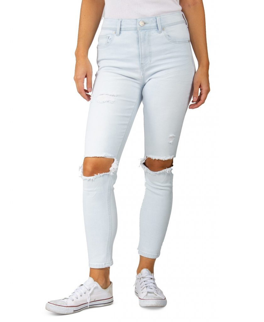 indigo_rein_juniors_high_rise_distressed_knee_skinny_jeans_types of jeans for women_revelle