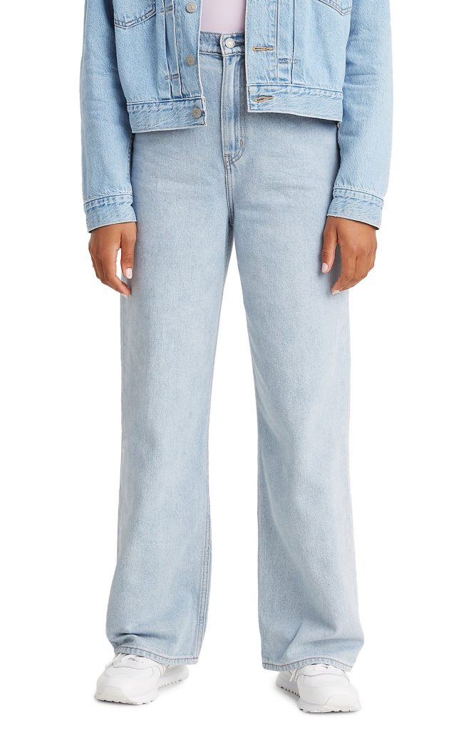 levis_loose_high_waist_wide_leg_jeans_types of jeans for women_revelle