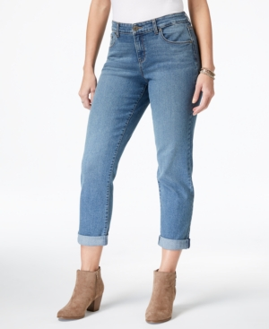 style_and_co_curvy_fit_cuffed_boyfriend_jeans_types of jeans for women_revelle