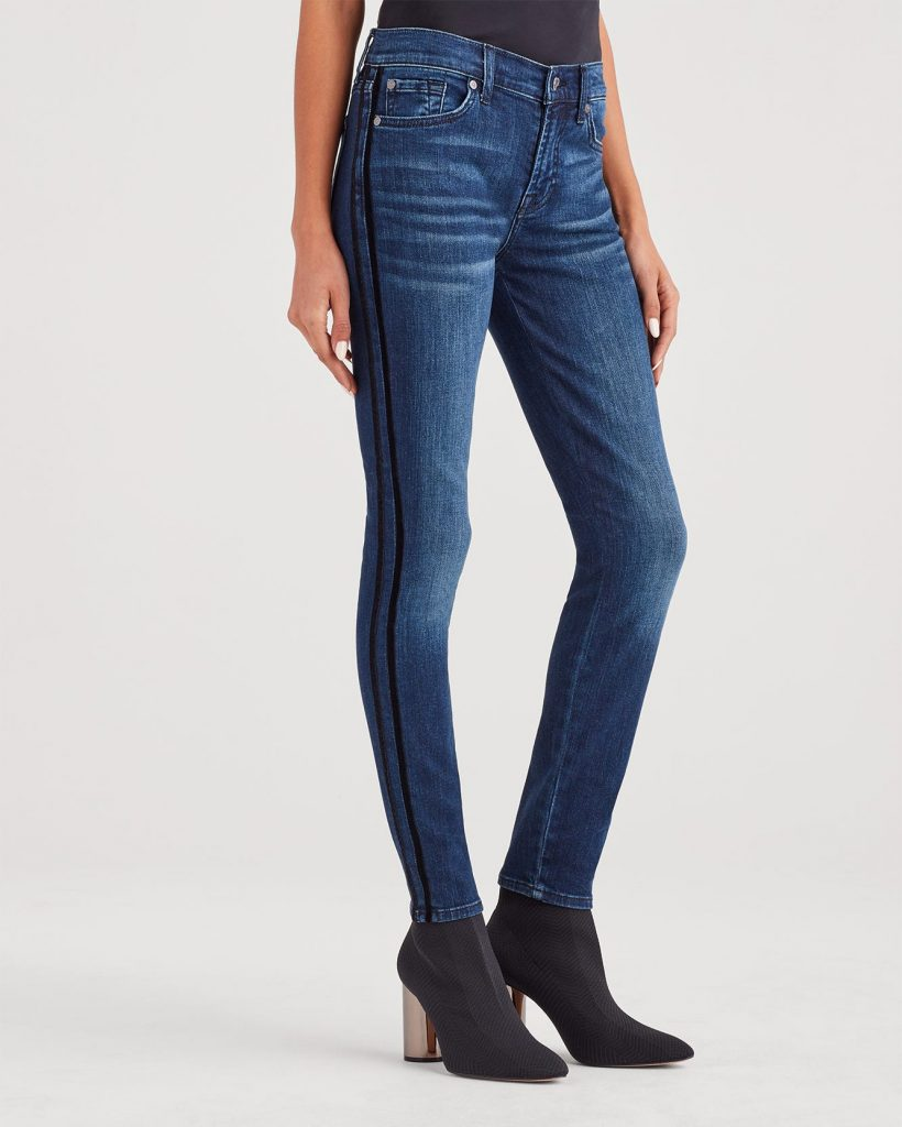 7 For All Mankind Women's b(air) Ankle Skinny _how to wear jeans to work and look professional_revelle