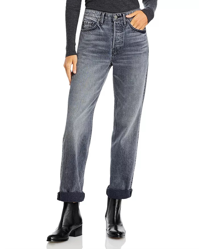 GRLFRND_Mica_Cuffed_Straight_Leg_best jeans for women with big thighs_revelle