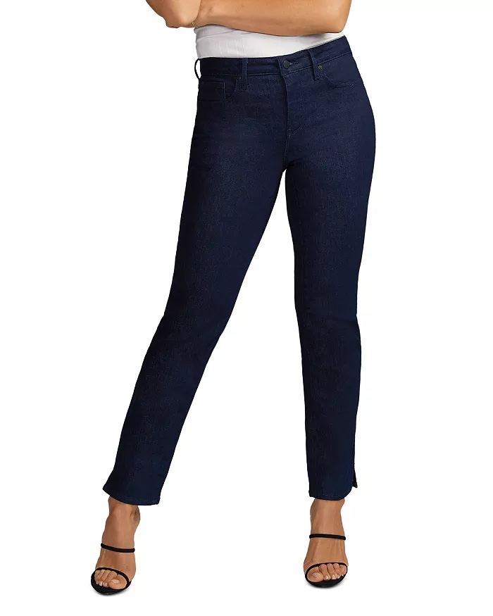 NYDJ Slim Straight Leg Ankle Jeans_how to wear jeans to work and look professional_revelle