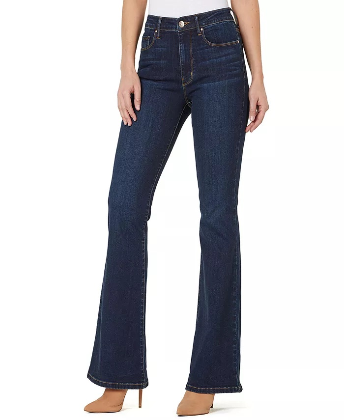 Numero High-Rise Flared Jeans _how to wear jeans to work and look professional_revelle