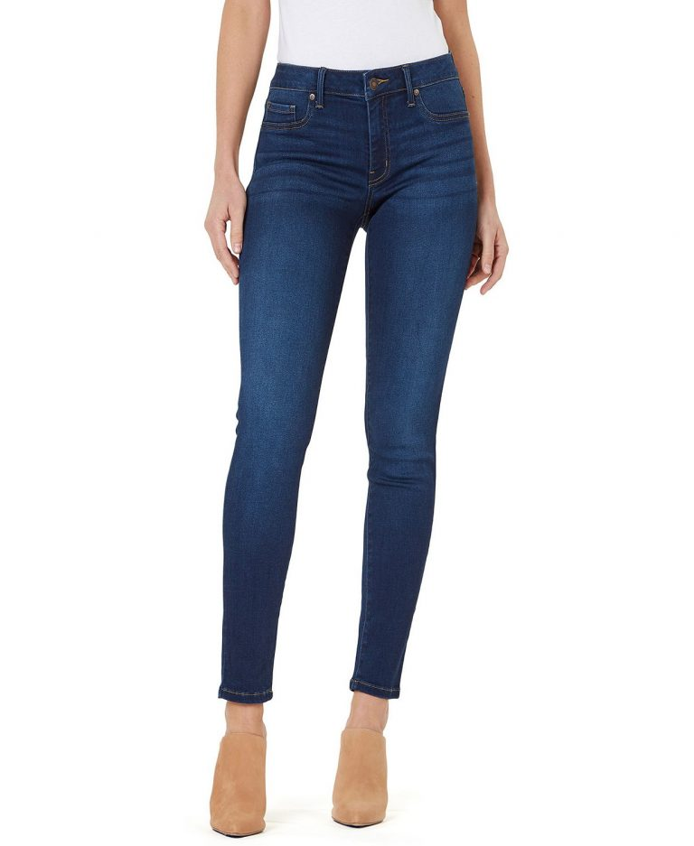 Numero Mid-Rise Skinny Jeggings _how to wear jeans to work and look professional_revelle