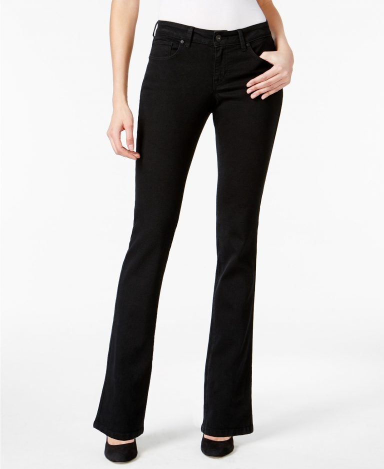 Style_Co_Curvy_Fit_Bootcut_Jeans_best jeans for women with big thighs_revelle