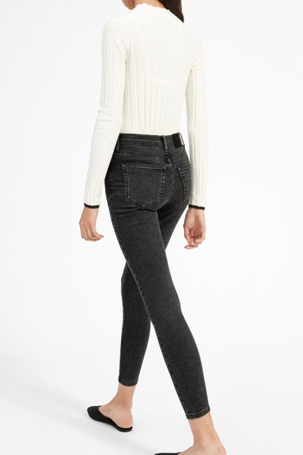 EVERLANE Authentic Stretch High-Rise Skinny Jean_best jeans for women with no butt_revelle