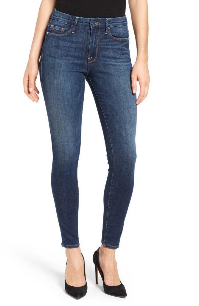 Good American Good Legs High-Rise Skinny Jeans_best skinny jeans for women_revelle