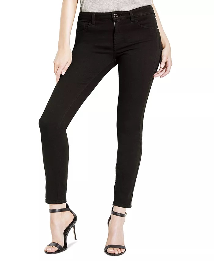 Guess Mid-Rise Skinny Jeans_best skinny jeans for women_revelle