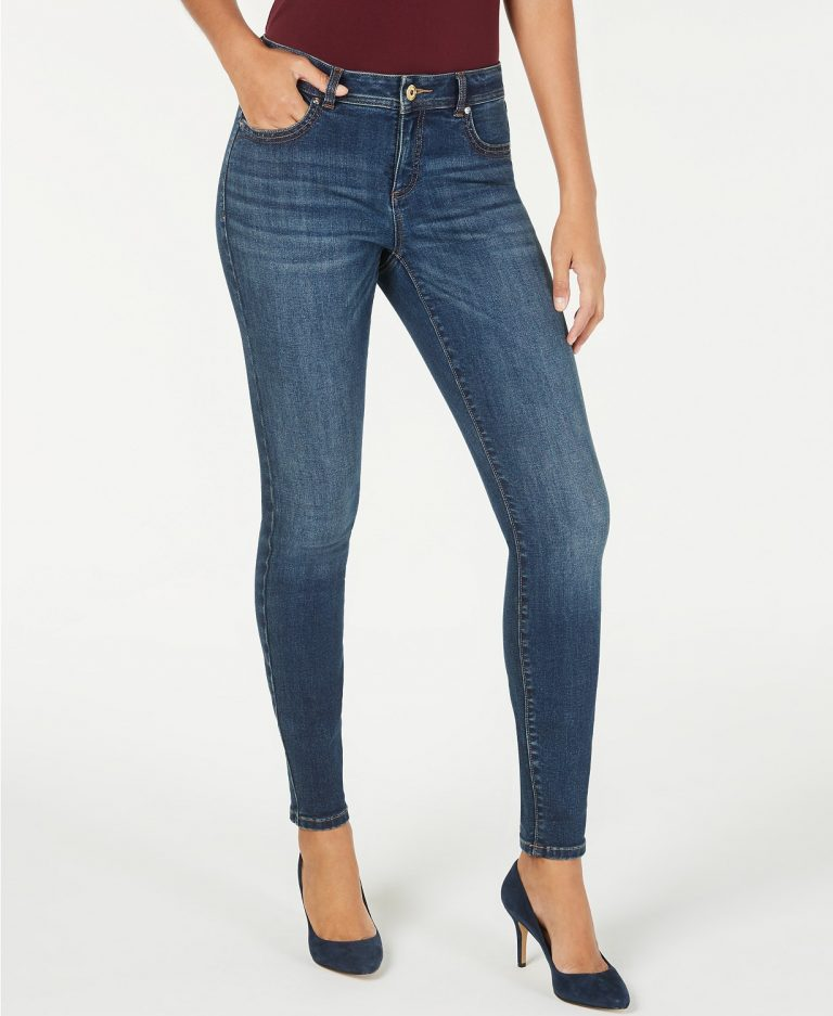 Inc INCEssential Skinny Jeans with Tummy Control_best skinny jeans for women_revelle