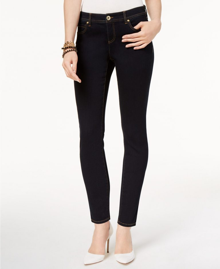 Inc Petite Skinny Tummy-Control Jeans, Created for Macy's _best skinny jeans for women_revelle