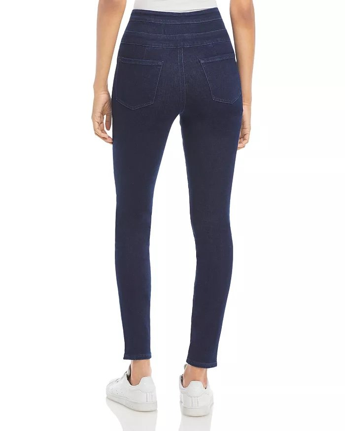 J Brand Annalie Extra Stretch High-Rise Skinny Jeans_best jeans for women with no butt_revelle
