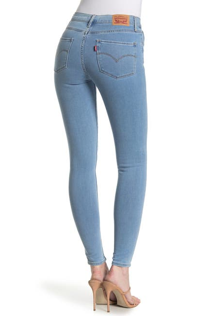 Levi's 720 High Waisted Super Skinny Jeans_best jeans for women with no butt_revelle