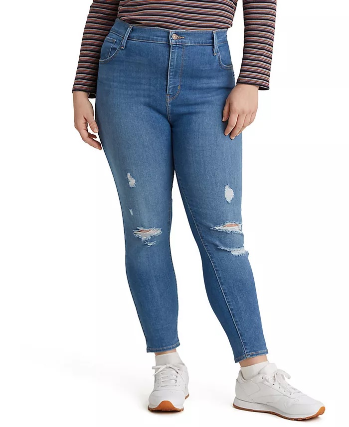 Levi's Trendy Plus-Size 720 High-Rise Super Skinny Jeans_best skinny jeans for women_revelle