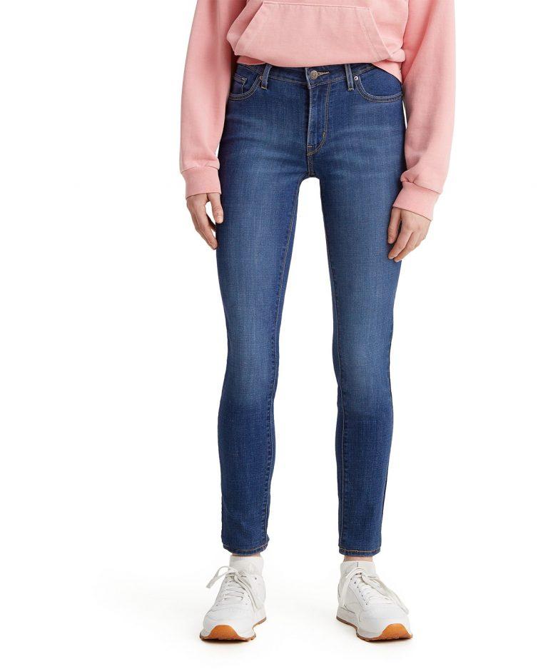 Levi's Women's 711 Skinny Jeans_best jeans for travel_revelle