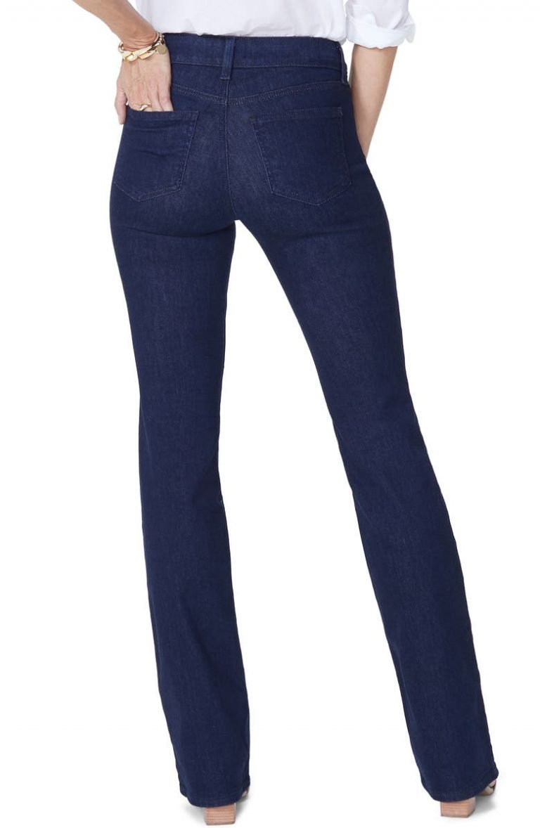 NYDJ Barbara Bootcut Jeans_best jeans for women with no butt_revelle