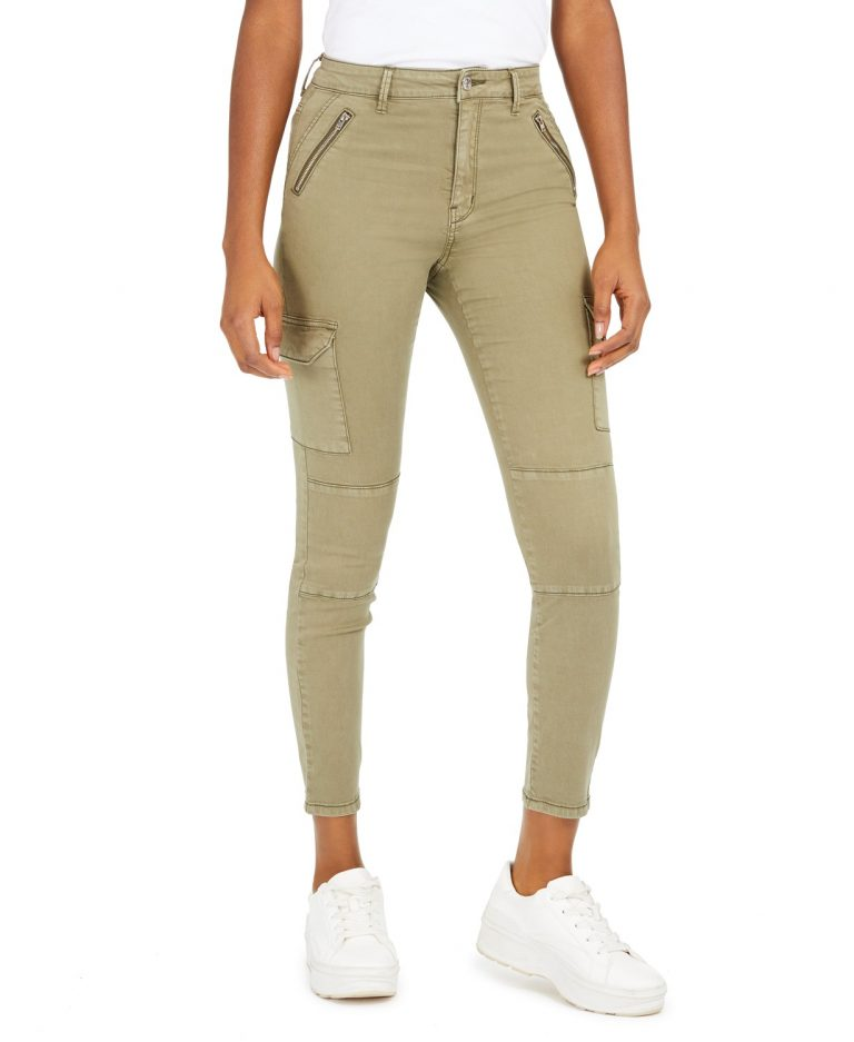 Numero High-Rise Cargo Ankle Jeans_best jeans for travel_revelle