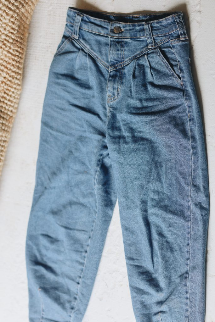 how to fold jeans_save space_1_revelle
