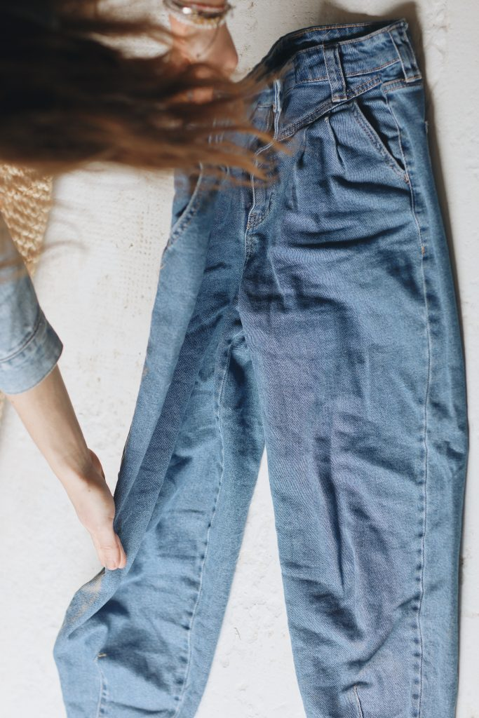 how to fold jeans_save space_2_revelle