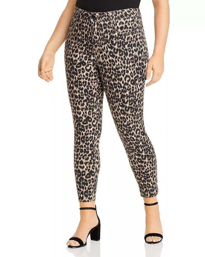 Seven7 Plus High-Rise Skinny Jeans In Leopard_best skinny jeans for women_revelle