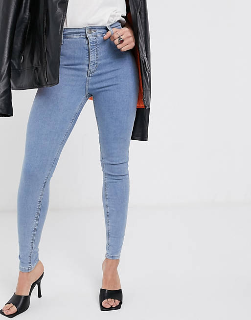 Topshop Joni Jeans In Bleach Wash_best skinny jeans for women_revelle