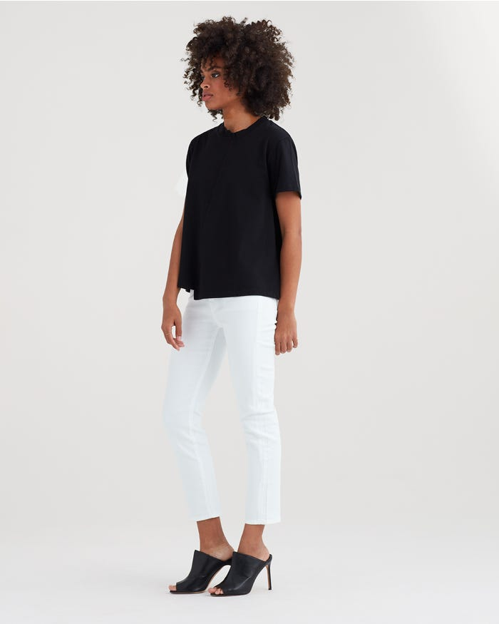 7 For All Mankind Women's Kimmie Crop _cropped jeans women_revelle
