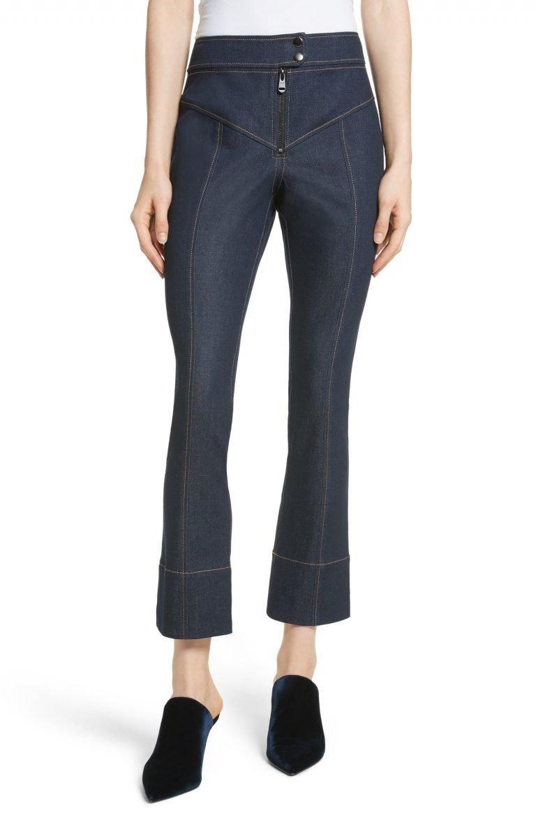 Cinq à Sept Tous Les Jour Kirim Jeans_womens jeans on sale_revelle
