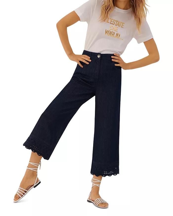 Marella Diva Cropped Denim Jeans_cropped jeans women_revelle