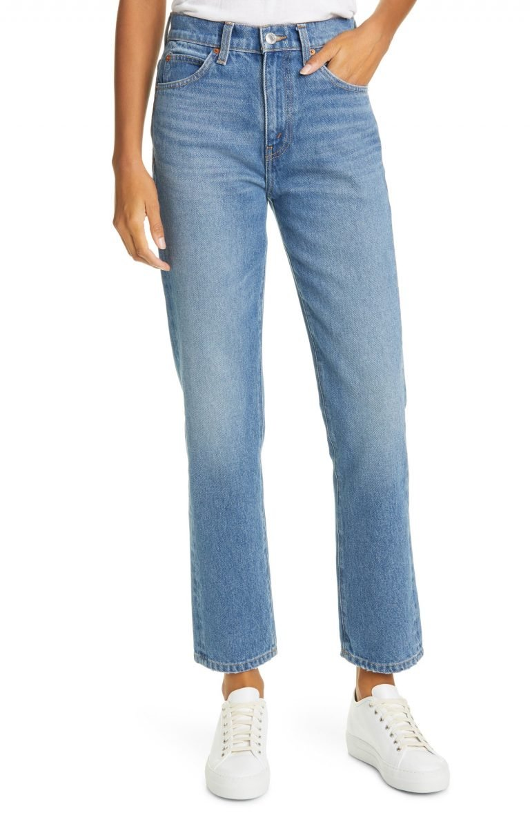 Re:Done '70s High Waist Ankle Stovepipe Jeans _womens jeans on sale_revelle