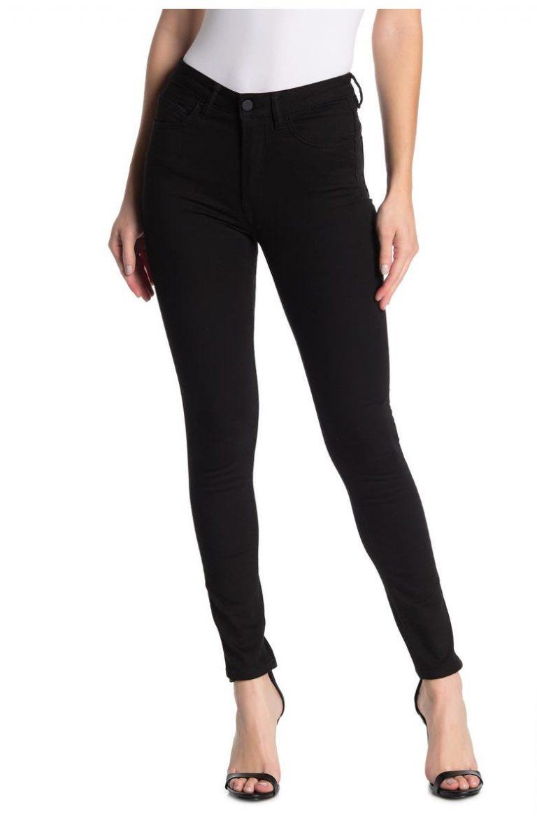 AllSaints Jet Black Stilt Skinny Jeans_best jeans under 100_revelle