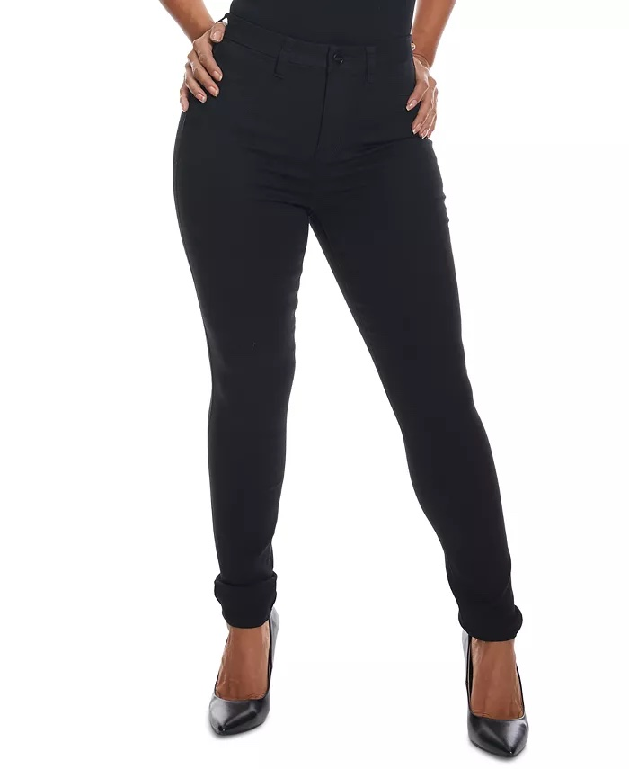 Dollhouse Juniors' Curvy-Fit High-Rise Skinny Jeans_comfortable jeans for women_revelle
