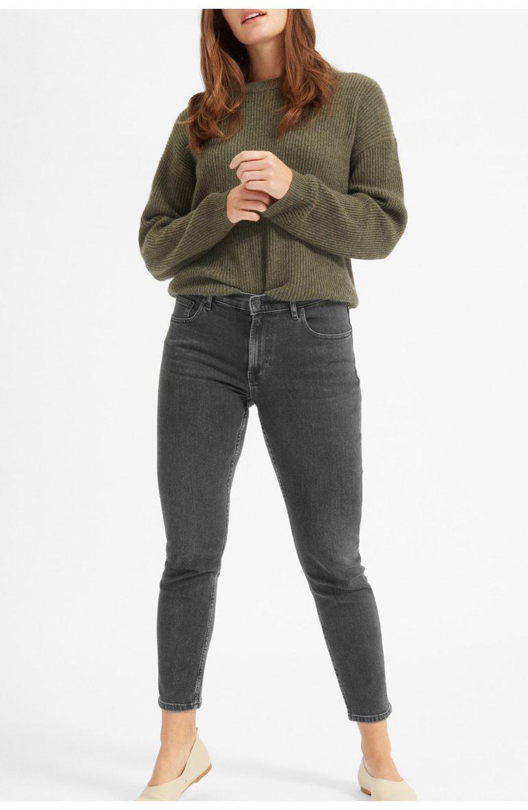 Everlane The Mid-Rise Skinny Jean_best jeans under 100_revelle