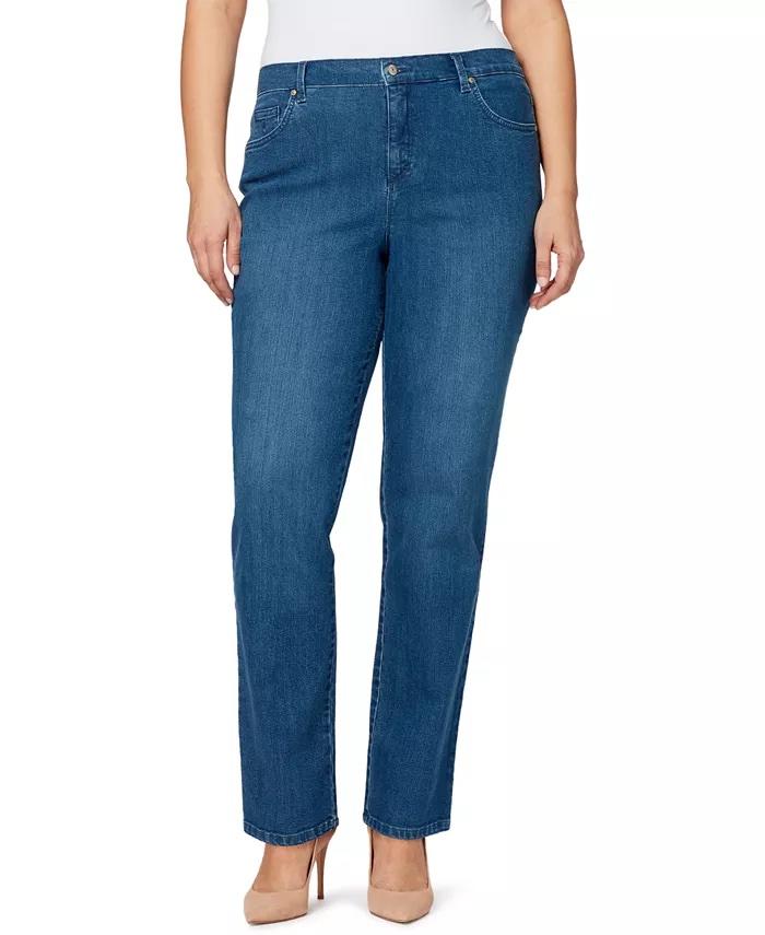 Gloria Vanderbilt Women's Plus Amanda Average Length Jean_best jeans under 100_revelle