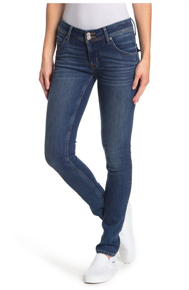 Hudson Collin Mid-Rise Skinny Regular Jeans_best jeans under 100_revelle