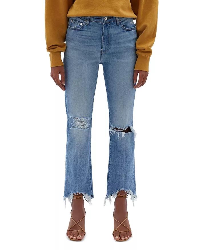 Jonathan Simkhai Standard River High-Rise Ripped Jeans in Ojai Light_high-waisted ripped jeans_revelle