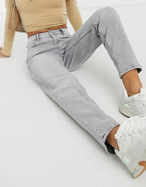 Mango Slim Mom Jean_best jeans under 100_revelle