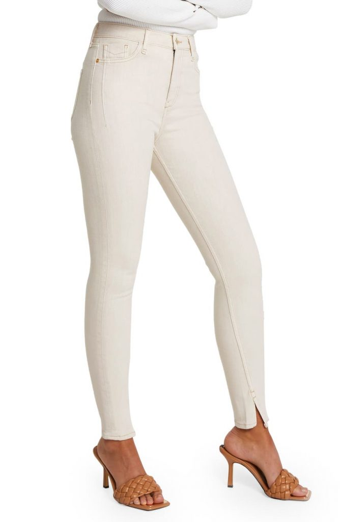 River Island High-Waist Ankle Skinny Jeans_comfortable jeans for women_revelle