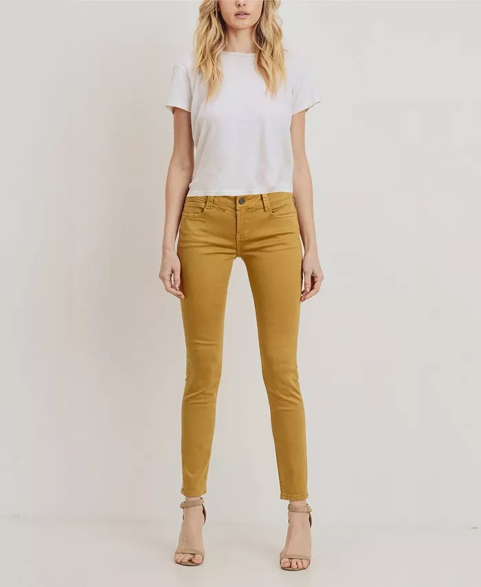 Rubberband Stretch Women's Sarina Skinny Jeans_best jeans under 100_revelle