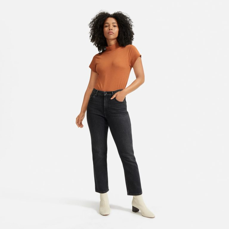 Everlane The Cheeky Bootcut Jeans_best bootcut jeans for women_revelle