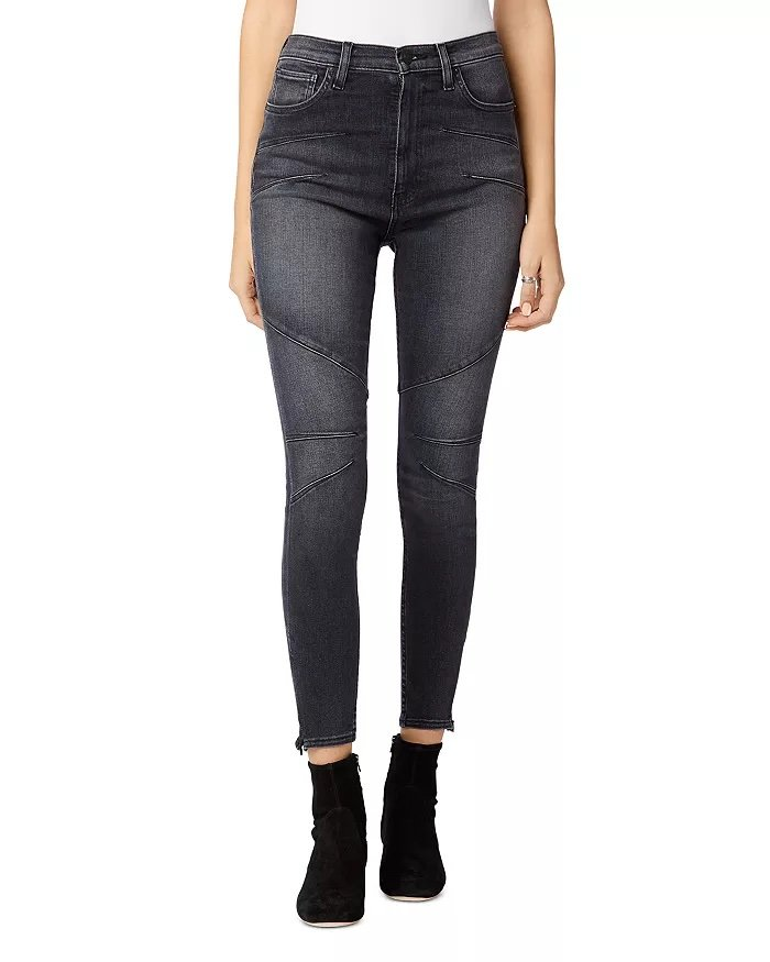 Hudson Centerfold Extreme High-Rise Super Skinny Jeans_best jeans for ankle boots_revelle