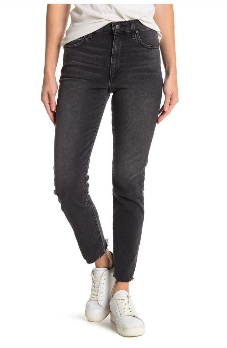 Joe's High-Rise Straight-Leg Ankle Jeans_best jeansf or ankle boots_revelle