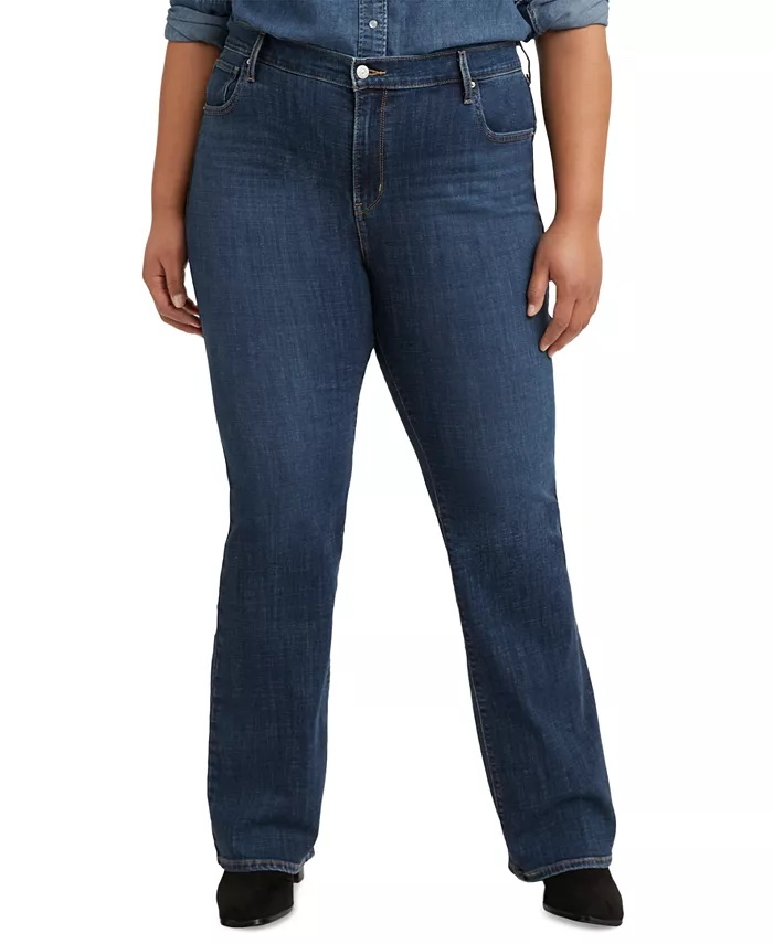 Levi's Plus Size 725 High-Rise Bootcut Jeans_best bootcut jeans for women_revelle