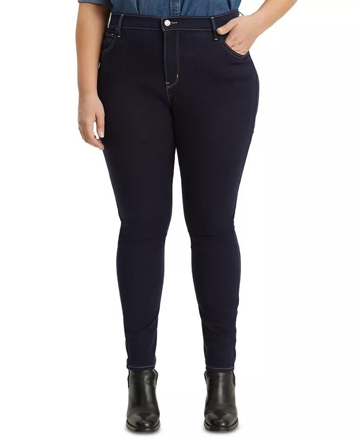 Levi's Trendy Plus-Size 720 High-Rise Super Skinny Jeans_best blue jeans for women_revelle