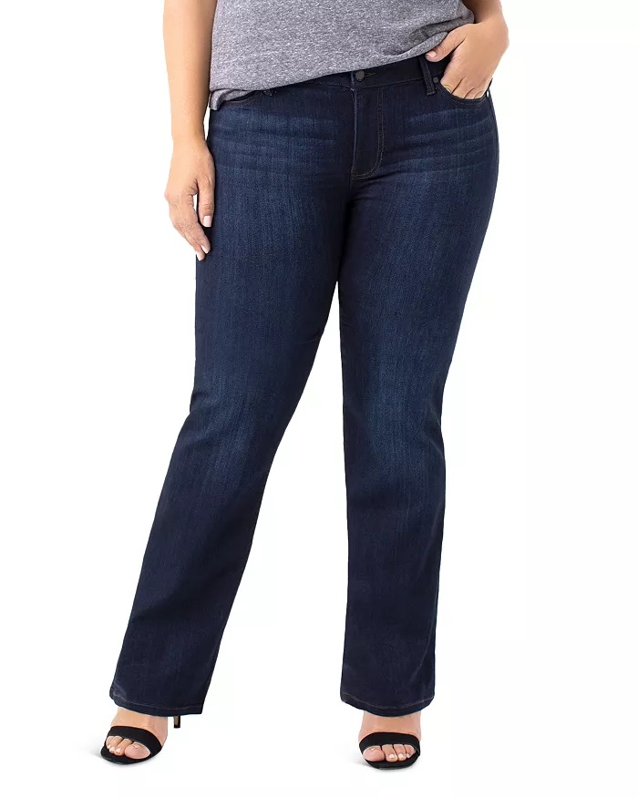 Liverpool Plus Lucy Bootcut Jeans_best jeans for plus size women_revelle