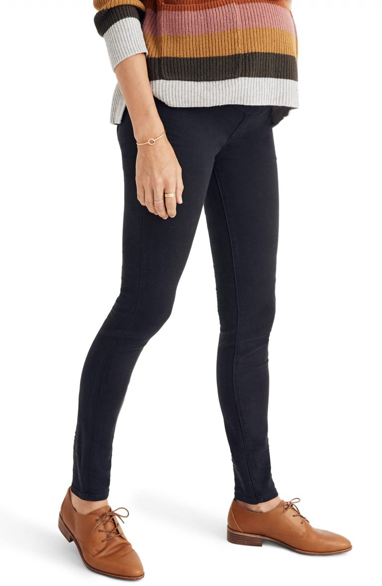 Madewell Maternity Over-The-Belly Skinny Jeans_best maternity jeans_revelle