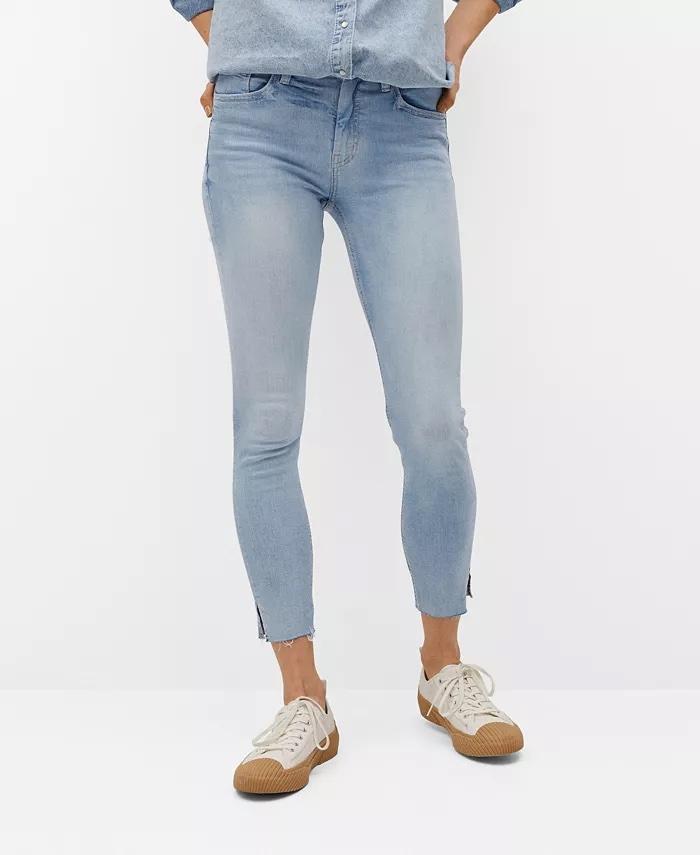 Mango Crop Skinny Isa Jeans_best blue jeans for women_revelle