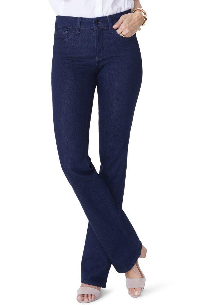 NYDJ Barbara Bootcut Jeans_best blue jeans for women_revelle