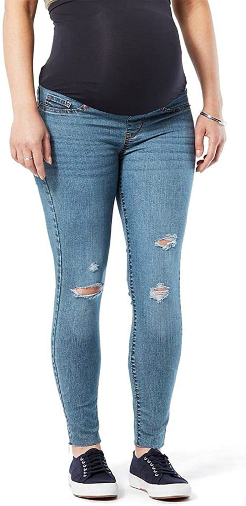 Signature by Levi Strauss & Co. Gold Label Women's Maternity Skinny Jeans_best maternity jeans_revelle