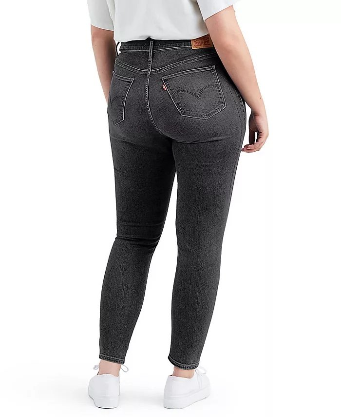 Levi's Trendy Plus-Size 720 High-Rise Super Skinny Jeans_best jeans for big butts_revelle