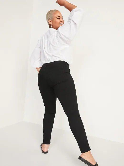 Old Navy High-Waisted Rockstar Super Skinny Jeans For Women_best jeans for big butts_revelle